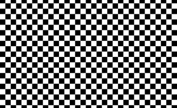 Black and White Checkerboard Wallpaper