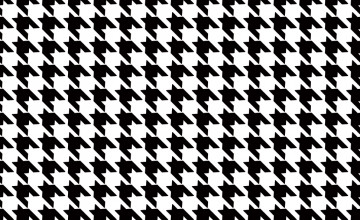 40 Black And White Houndstooth Wallpaper On Wallpapersafari