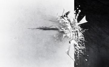Black and White Modern Wallpaper