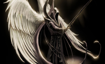 Black Angel Devil Wallpaper