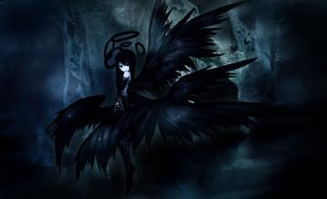 Black Angel Wallpaper