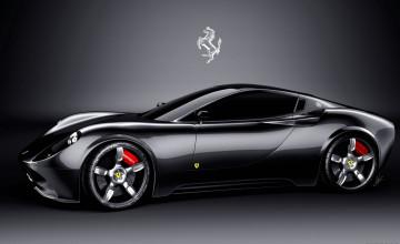 Black Ferrari Wallpaper