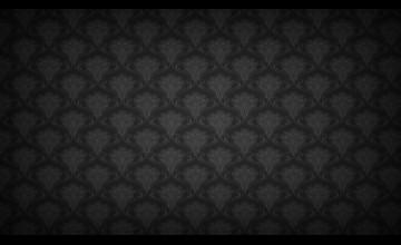 Black Floral Wallpaper