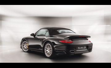 Black Porsche 911 Turbo Wallpaper