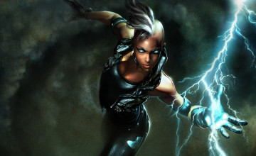 Black Superheroes Wallpaper