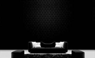 Black Wallpaper for Home