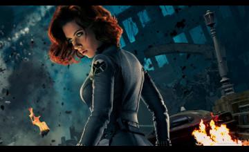 Black Widow Avengers Wallpaper