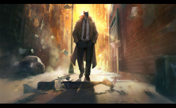 Blacksad Wallpaper