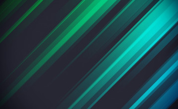 Blue and Green Striped Wallpaper