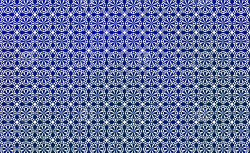 Blue and White Geometric Wallpaper