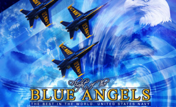 Blue Angel Wallpaper