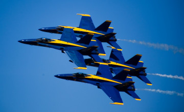 Blue Angels Wallpaper Widescreen
