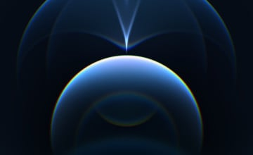 Blue iPhone 12 Wallpapers