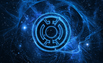 Blue Lantern Corps Wallpaper