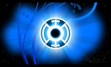 Blue Lantern Wallpaper