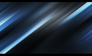 Blue Metallic Wallpaper