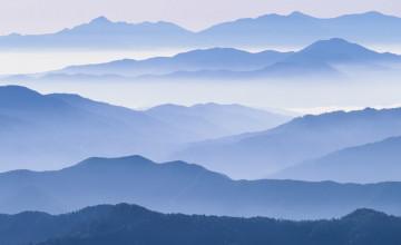 Blue Mountain Free Wallpaper
