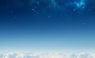 Blue Sky iPhone Wallpaper