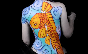 Body Painting Wallpapers for Desktop