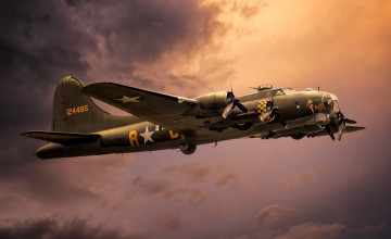 Boeing B-17 Flying Fortress HD Wallpapers