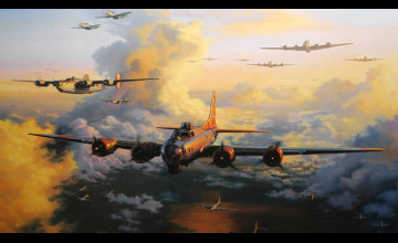 Boeing B-17 Flying Fortress Wallpapers