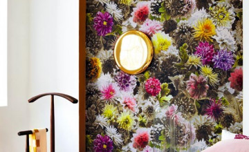 Bold Floral Wallpaper for Home