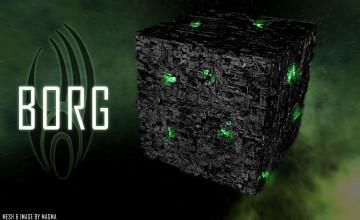 Borg Cube Wallpaper