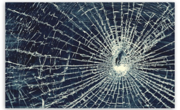 Broken Glass HD Wallpaper