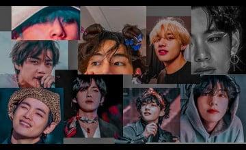 BTS V Cute Desktop Wallpapers