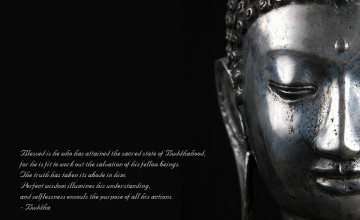 Buddhist Background Wallpaper