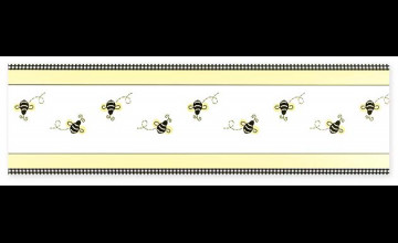 Bumble Bee Wallpaper Border