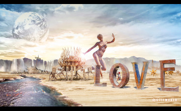 Burning Man Wallpaper