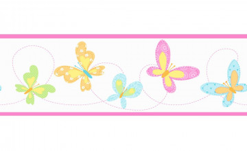 Butterfly Wallpaper Borders for Kitchen