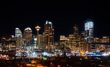 Calgary Skyline Wallpaper