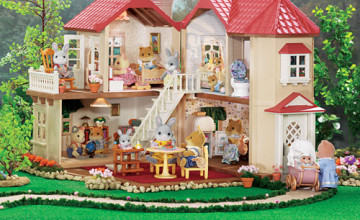 Calico Critters Wallpaper for Houses