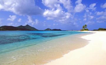 Calming Beach Wallpaper for Desktop