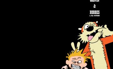 Calvin and Hobbes Computer Wallpaper