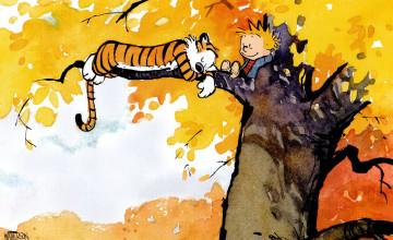 Calvin And Hobbes Desktop Wallpaper