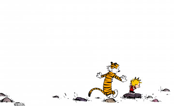 Calvin and Hobbes HD Wallpaper