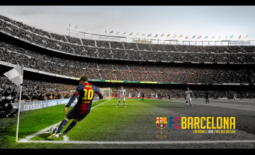 Camp Nou Wallpaper HD
