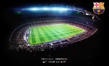 Camp Nou Wallpaper