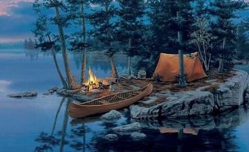 Camping Screensavers and Wallpaper