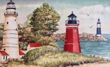 Cape Cod Wallpaper Border