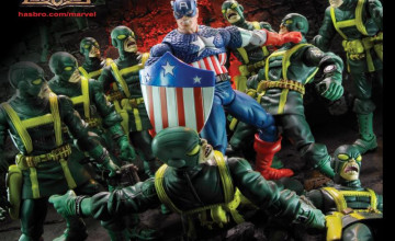 Captain Action Wallpaper