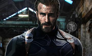 Captain America Beard Wallpapers