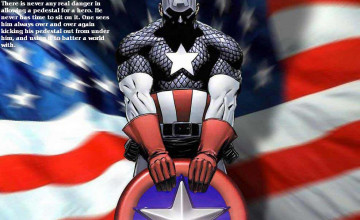 Captain America Screensavers and Wallpaper
