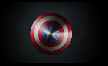 Captain America Shield Wallpaper HD