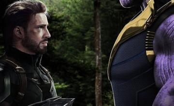 Captain America Vs Thanos Wallpapers