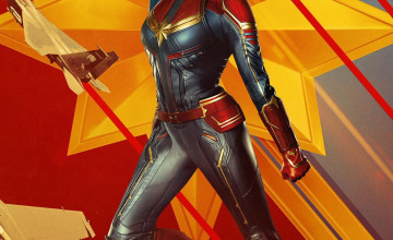 Captain Marvel Phone Wallpapers