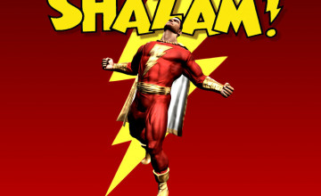 Captain Marvel Shazam Wallpaper